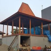 Pembangunan Bangunan Kayu Bengkirai