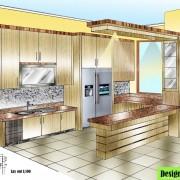 Design Dapur Bersih