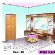 Design Meja Rias